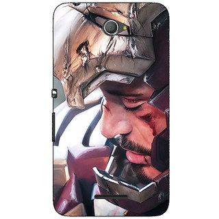 Jugaaduu Superheroes Ironman Back Cover Case For Sony Xperia E4 - J620867