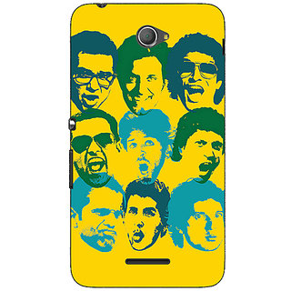 Jugaaduu Bollywood Superstar ZNMD Back Cover Case For Sony Xperia E4 - J621099