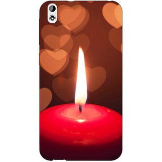 Jugaaduu Candle Light Romance Back Cover Case For HTC Desire 816 Dual Sim - J1060713
