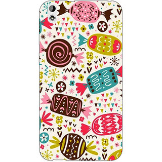 Jugaaduu Candy Love Back Cover Case For HTC Desire 816 - J1050784
