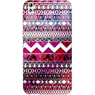 Jugaaduu Tribal Back Cover Case For HTC Desire 816 - J1050797