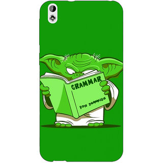 Jugaaduu Grammar Yoda Back Cover Case For HTC Desire 816 - J1050812