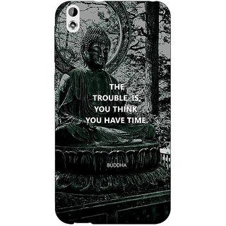 Jugaaduu Gautam Buddha Back Cover Case For HTC Desire 816G - J1071276