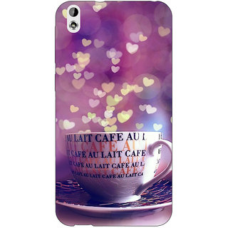 Jugaaduu Coffee Back Cover Case For HTC Desire 816G - J1071295