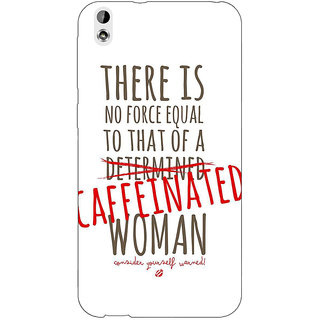 Jugaaduu Quote Back Cover Case For HTC Desire 816G - J1071347