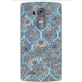 Jugaaduu Sky Morroccan Pattern Back Cover Case For LG G4 - J1100244