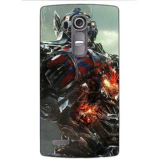 Jugaaduu Transformers Optimus Prime Back Cover Case For LG G4 - J1100887