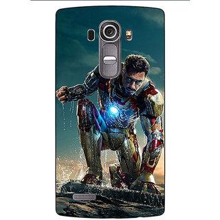 Jugaaduu Wolverine Hugh Jackman Back Cover Case For LG G4 - J1100898