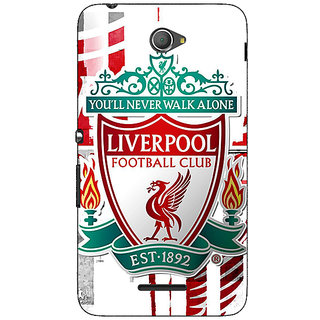 Jugaaduu Liverpool Back Cover Case For Sony Xperia E4 - J620549