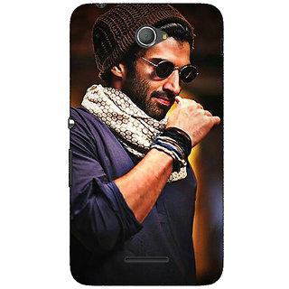 Jugaaduu Bollywood Superstar Aditya Roy Kapoor Back Cover Case For Sony Xperia E4 - J620912