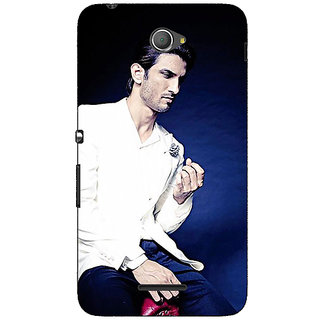 Jugaaduu Bollywood Superstar Sushant Singh Rajput Back Cover Case For Sony Xperia E4 - J620929