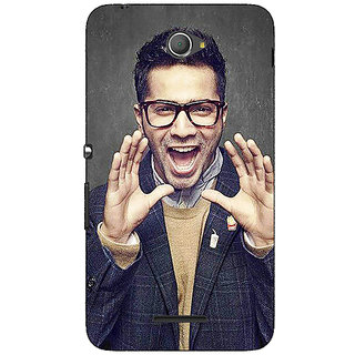 Jugaaduu Bollywood Superstar Varun Dhawan Back Cover Case For Sony Xperia E4 - J620946