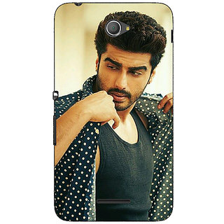 Jugaaduu Bollywood Superstar Arjun Kapoor Back Cover Case For Sony Xperia E4 - J620963