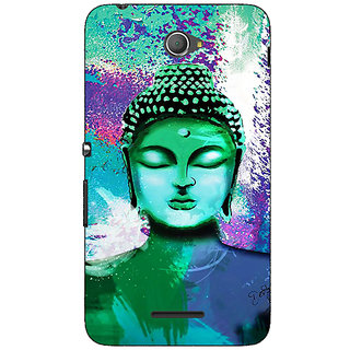 Jugaaduu Gautam Buddha Back Cover Case For Sony Xperia E4 - J621265