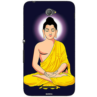 Jugaaduu Gautam Buddha Back Cover Case For Sony Xperia E4 - J621266