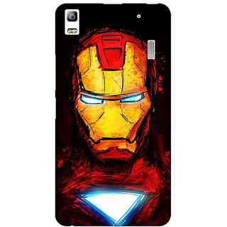 Jugaaduu Superheroes Ironman Back Cover Case For Lenovo K3 Note - J1120030