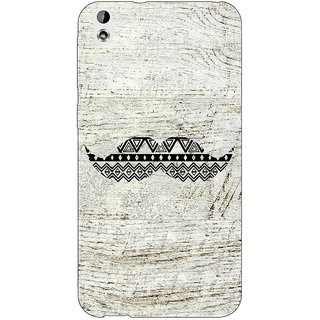 Jugaaduu Mustache Back Cover Case For HTC Desire 816 Dual Sim - J1060754