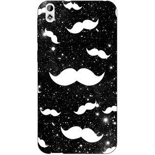 Jugaaduu Mustache Back Cover Case For HTC Desire 816 Dual Sim - J1060759
