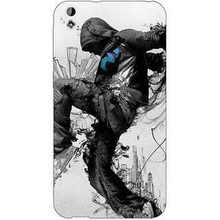 Jugaaduu Dance Back Cover Case For HTC Desire 816G - J1070828