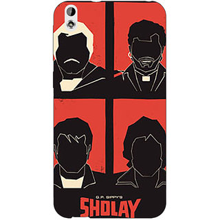 Jugaaduu Bollywood Superstar Sholay Back Cover Case For HTC Desire 816 - J1051124