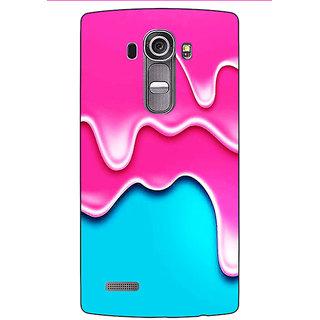 Jugaaduu Ice Cream Back Cover Case For LG G4 - J1101405