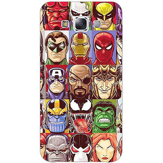 Jugaaduu Super Heroes and Villains Back Cover Case For Samsung Galaxy On5 - J1171401