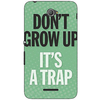 Jugaaduu Quote Back Cover Case For Sony Xperia E4 - J621348