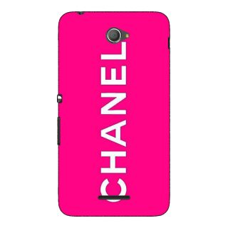 Jugaaduu Chanel Back Cover Case For Sony Xperia E4 - J621389