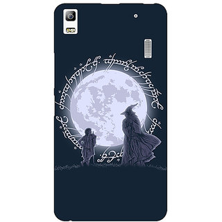 Jugaaduu LOTR Hobbit  Back Cover Case For Lenovo K3 Note - J1120378