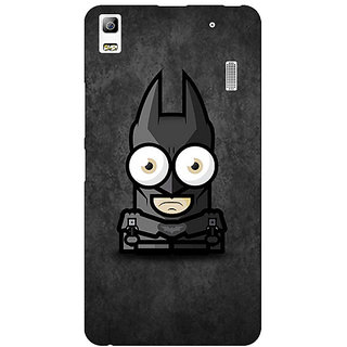 Jugaaduu Big Eyed Superheroes Batman Back Cover Case For Lenovo K3 Note - J1120395
