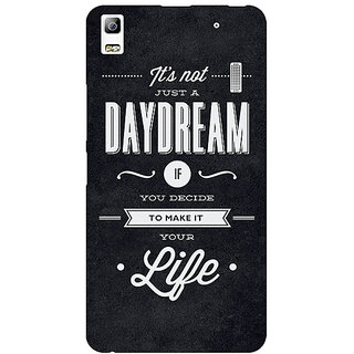 Jugaaduu Quote Back Cover Case For Lenovo K3 Note - J1121471
