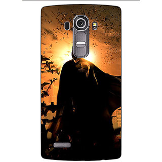 Jugaaduu Superheroes Batman Dark knight Back Cover Case For LG G4 - J1100005