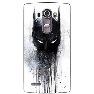 Jugaaduu Superheroes Batman Dark knight Back Cover Case For LG G4 - J1100019