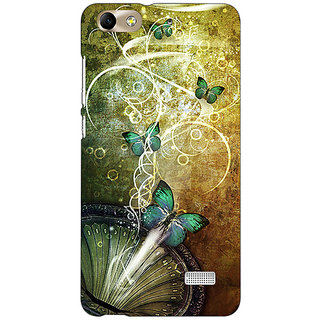 Jugaaduu Abstract Butter Fly Pattern Back Cover Case For Huawei Honor 4C - J851525