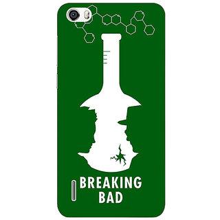 Jugaaduu Breaking Bad Heisenberg Back Cover Case For Huawei Honor 6 - J860422