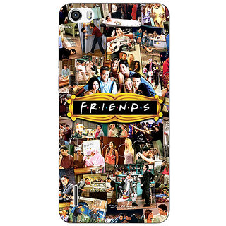 Jugaaduu FRIENDS Back Cover Case For Huawei Honor 6 - J860443