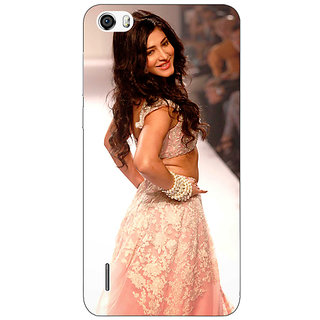 Jugaaduu Bollywood Superstar Shruti Hassan Back Cover Case For Huawei Honor 6 - J861072
