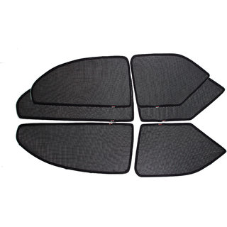 Able Spider Half Car Magnetic Sun Shade Curtains For AUDI AUDI-Q7 Set Of 6
