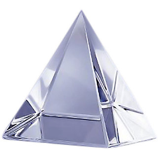 Feng Shui Transparent Crystal Pyramid