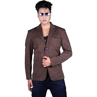 Unifit Solid Single Breasted Formal Mens Blazer