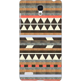 Jugaaduu Aztec Girly Tribal Back Cover Case For Redmi Note 4G - J240062