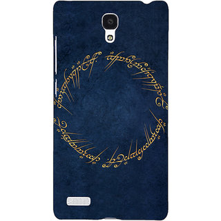 Jugaaduu LOTR Hobbit  Back Cover Case For Redmi Note 4G - J240371