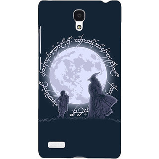 Jugaaduu LOTR Hobbit  Back Cover Case For Redmi Note 4G - J240378