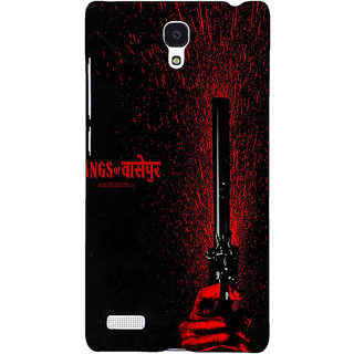 Jugaaduu Bollywood Superstar Gangs Of Wasseypur Back Cover Case For Redmi Note 4G - J241102