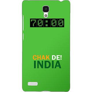 Jugaaduu Bollywood Superstar Chak De India Back Cover Case For Redmi Note 4G - J241106