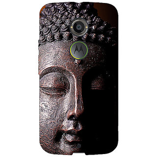 Jugaaduu Gautam Buddha Back Cover Case For Moto X (2nd Gen) - J231285