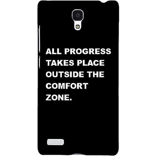 Jugaaduu Quote Back Cover Case For Redmi Note 4G - J241475