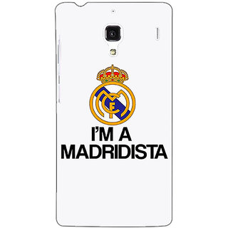 Jugaaduu Real Madrid Back Cover Case For Redmi 1S - J250599