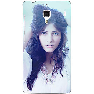 Jugaaduu Bollywood Superstar Shruti Hassan Back Cover Case For Redmi 1S - J250988