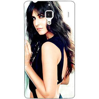 Jugaaduu Bollywood Superstar Katrina Kaif Back Cover Case For Redmi 1S - J250989
